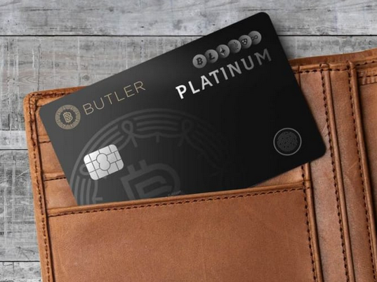 Butler cards for digital currency