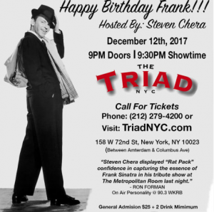 "Steven Chera hosts the 3rd Annual ""Happy Birthday Frank!"""