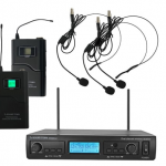 Professional Dual-Channel UHF Handheld Wireless Microphone System