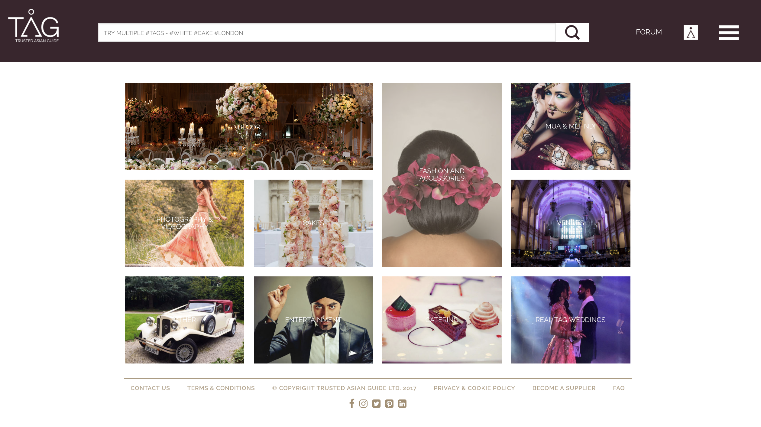 NEW AGE IMAGE BASED WEDDING DIRECTORY