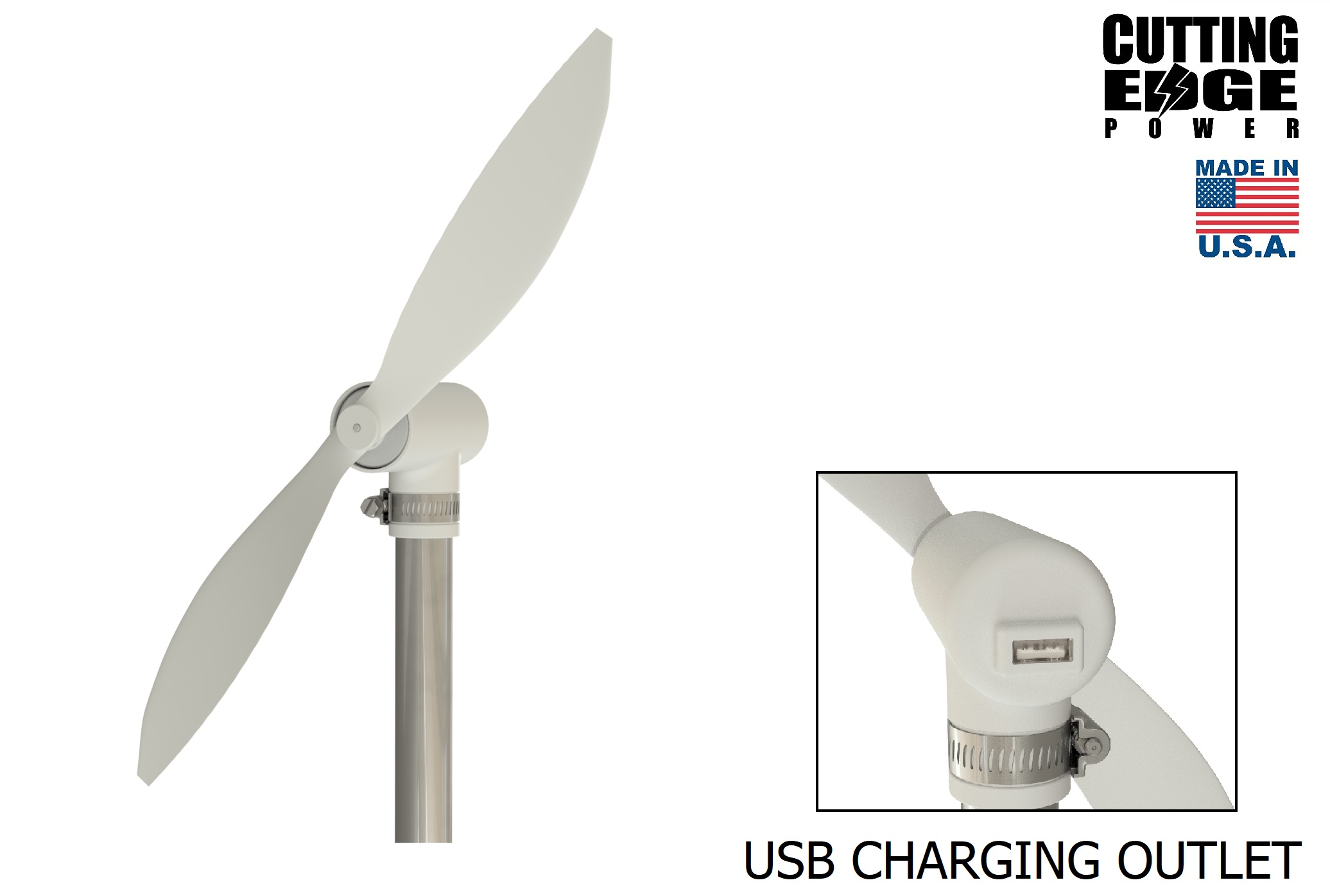 New Portable Wind Turbine With USB Output