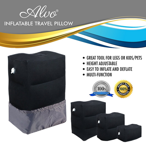 Travel Pillow Foot Rest Launched on Amazon