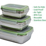 Stainless Steel Lunch Box for Kids and Adults