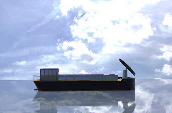 Catching Light To Launch Their First Solar Electric Dutch Barge