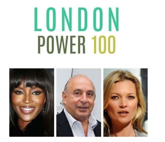 Royals, politicians and A-listers dominate London Power 100 list