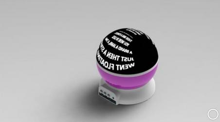3D Affirmation Projector