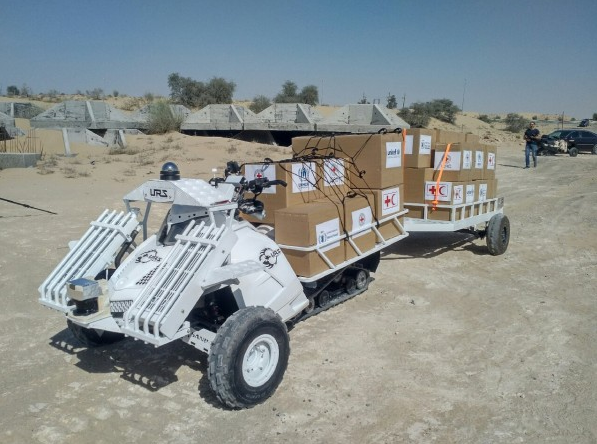 URS Labs Unmanned Ground Vehicles (UGV) was selected to participate in the UN World Food Program (WFP) Innovation Boot Camp