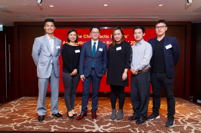 The Chiropractic Doctors Association of Hong Kong (CDAHK) has elected Chu Chun Pu Eric, as its newChairman to serve the spinal health of Hong Kong and China