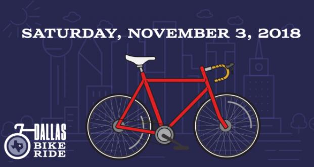 dallas bike ride november 2018