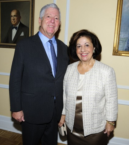 ROYAL COUPLE AND LIFELINE NEW YORK HOST ANNUAL BENEFIT LUNCHEON