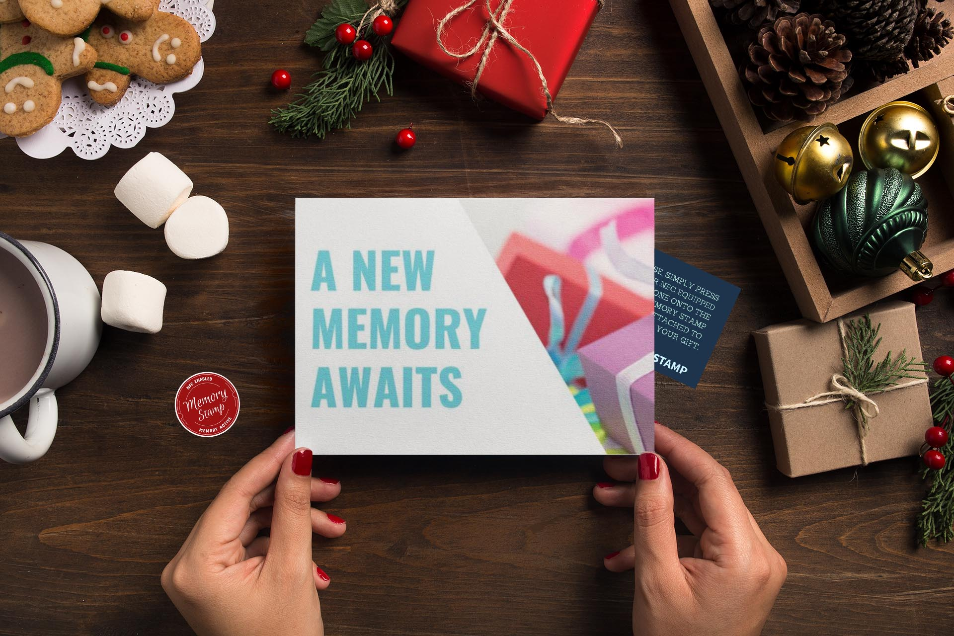 Memory Stamp launches a kickstarter campaign