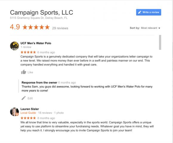 campaign sports