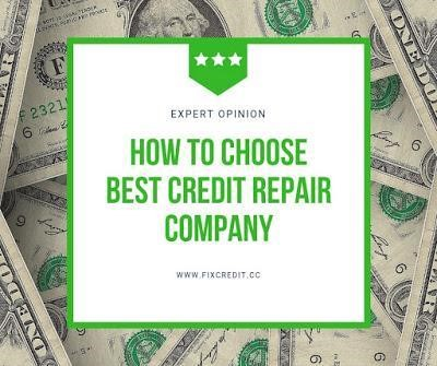 fix credit repair credit