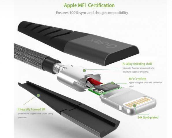 strong iphone cable