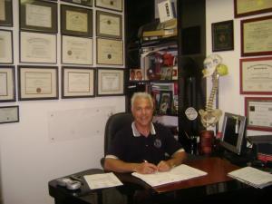 Chiropractor Roger Verno DC