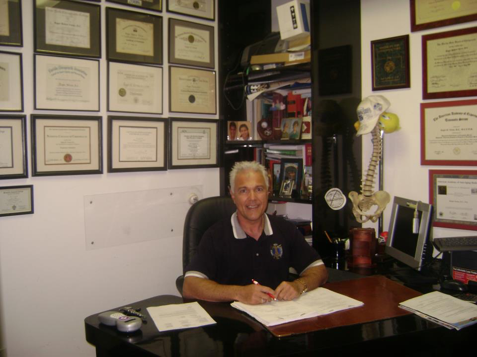 Chiropractor Roger Verno DC