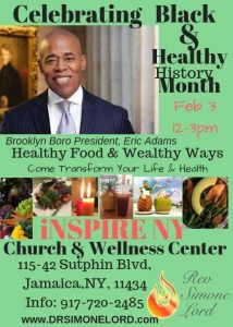 ERIC ADAMS TO VISIT INSPIRE NY