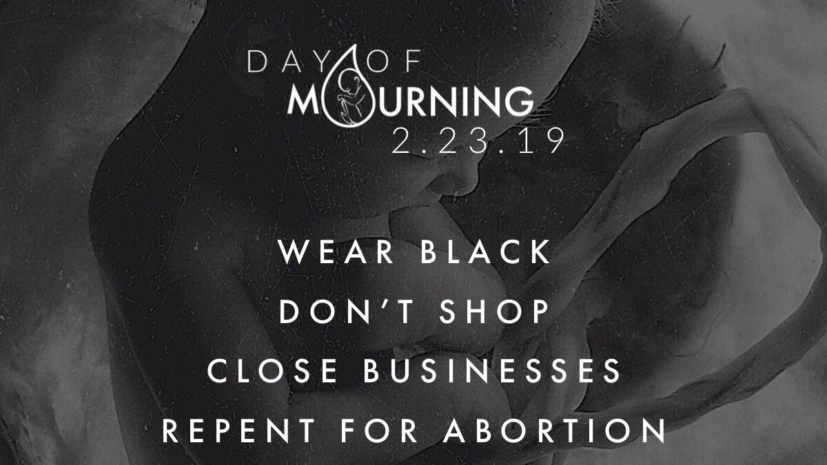 "Grassroots ""Day Of Mourning"