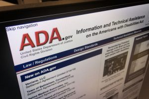 WSJ ADA Web Accessibility