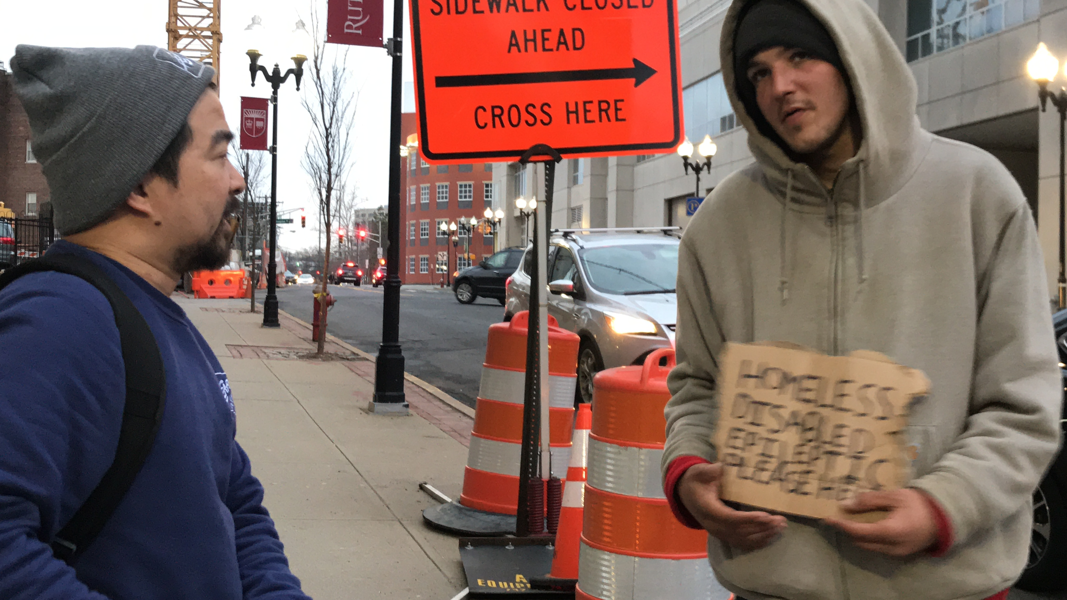 Shoes For The Homeless Campaign In New Jersey