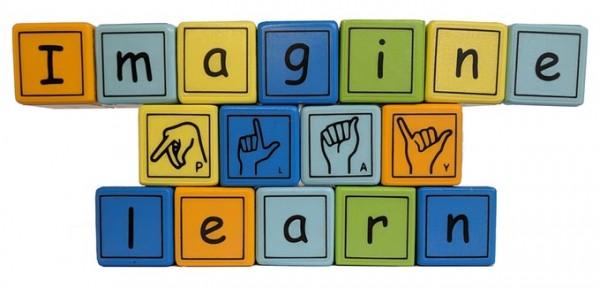 Alphabet & American Manual Sign Language Magnetic Wooden Block set