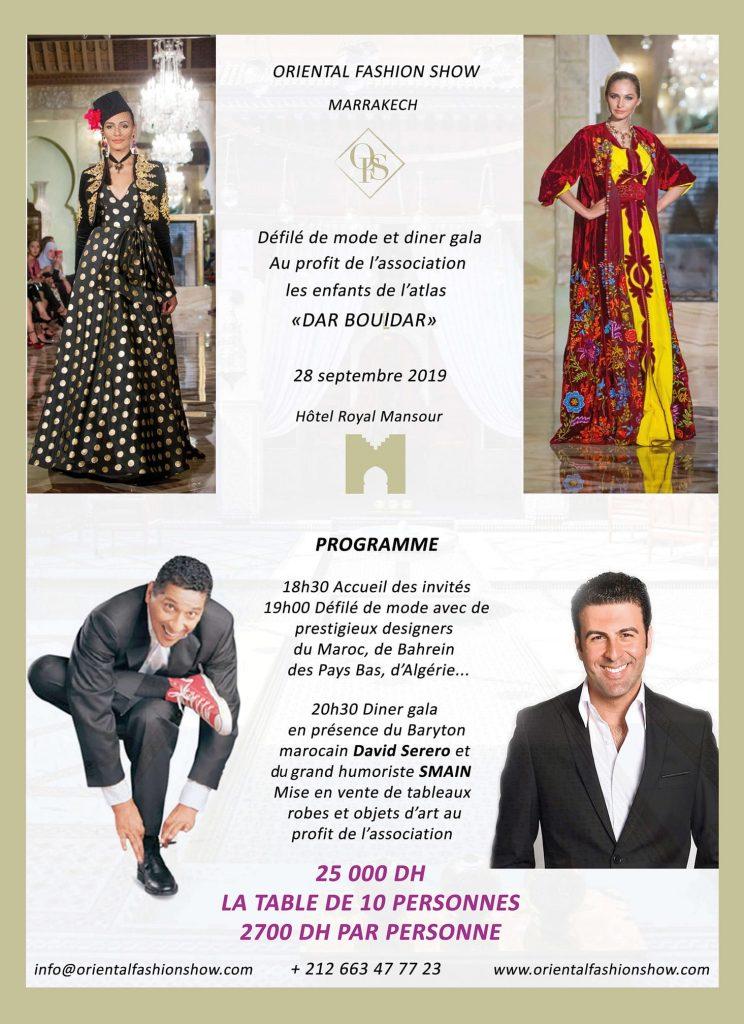 The Haute-Couture Oriental Fashion Show