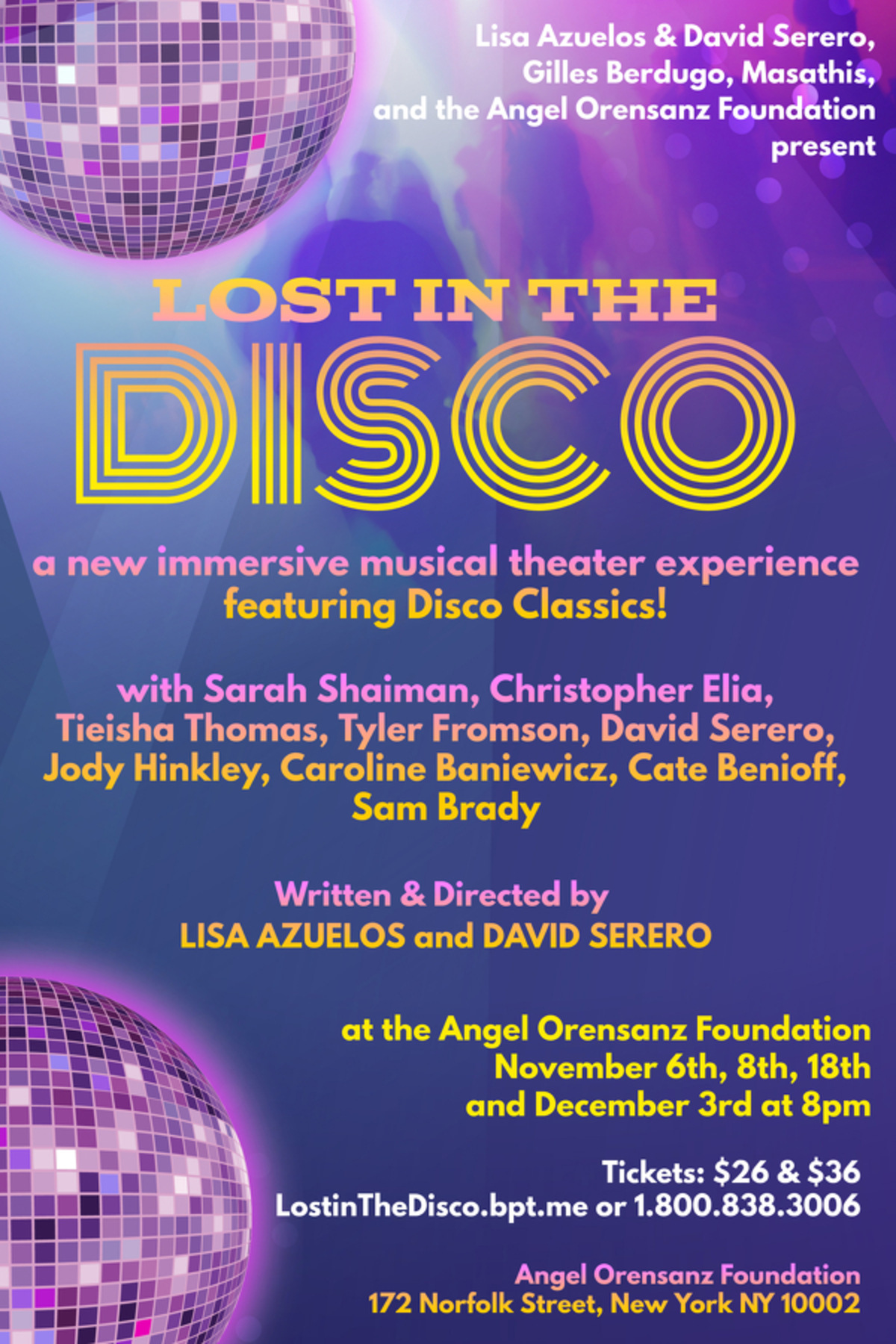 LOST IN THE DISCO