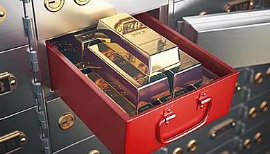 security deposit box