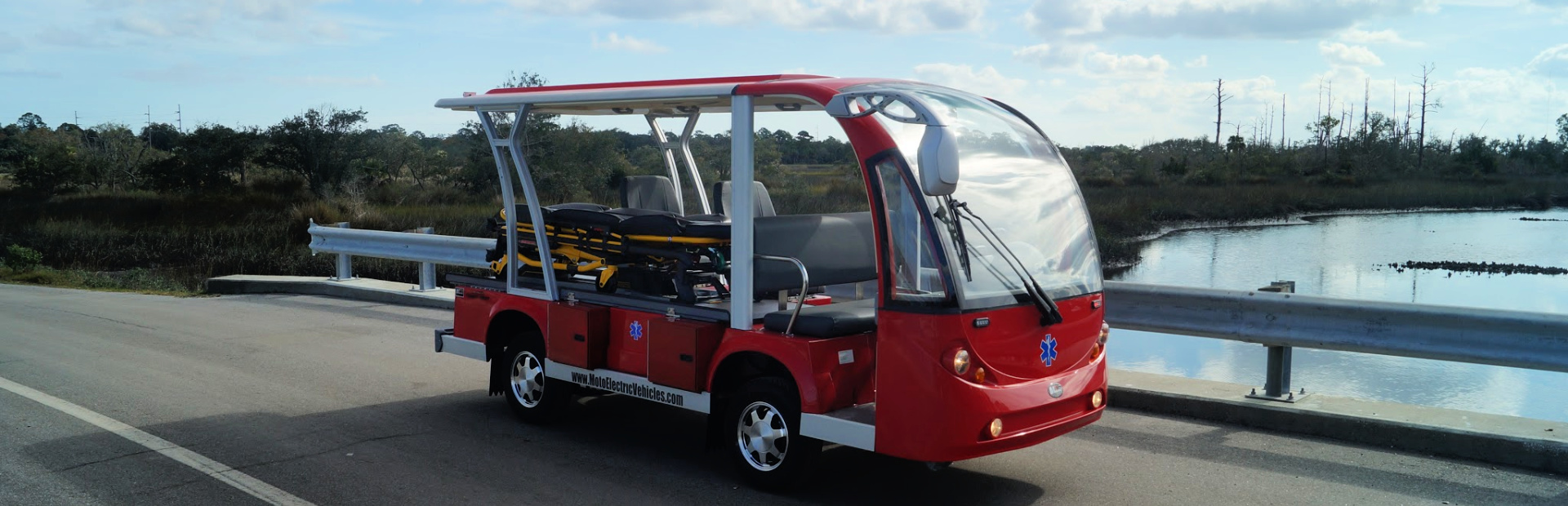 EMS Responder Electric Shuttle