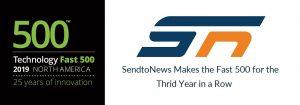 SendtoNews makes the Deloitte Fast 500