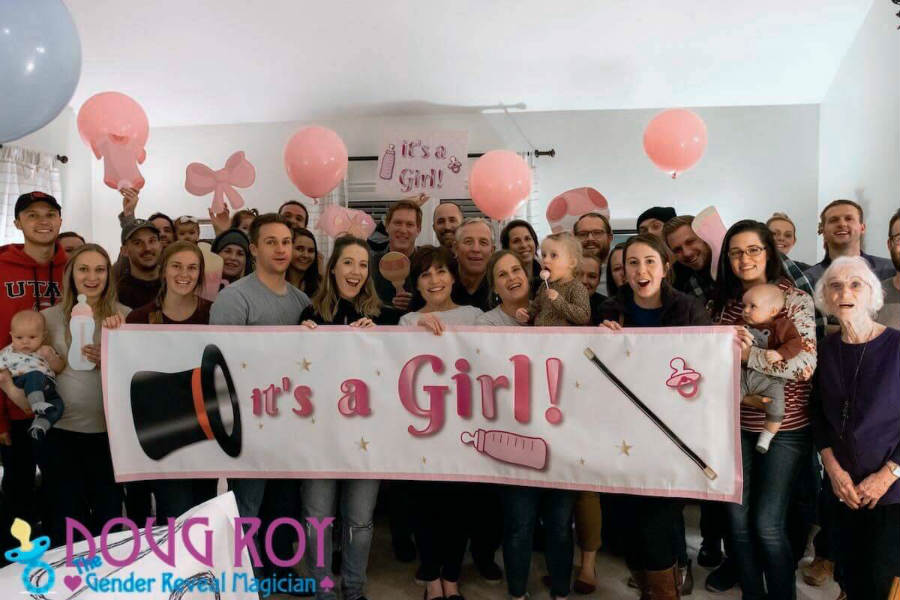 Magician Doug Roy Talks About His Magical Gender Reveal Parties Share