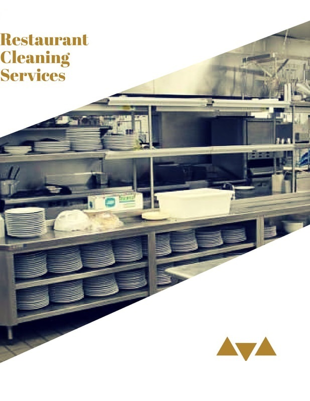 Janitorial restaurant cleaning services